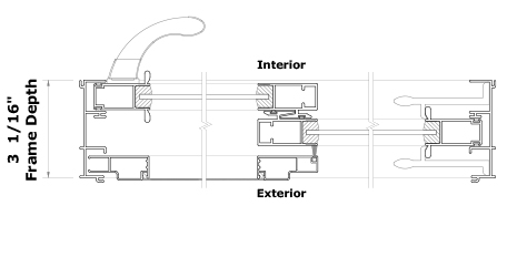 2000 Door Series Cross Section